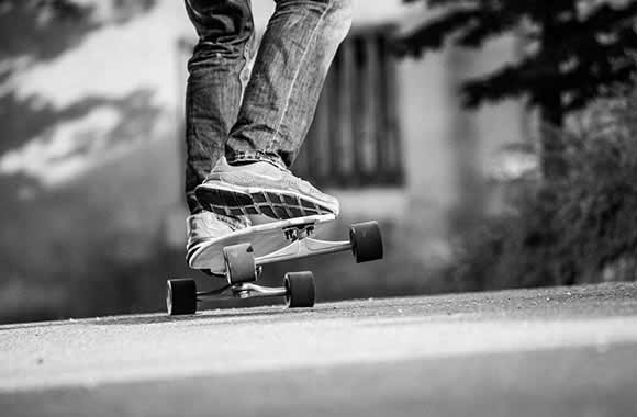 how to slow down on a longboard