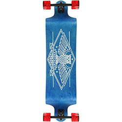 Landyachtz switch owl blue longboard
