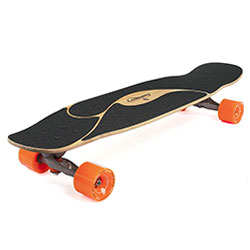 Loaded boards poke bamboo longboard