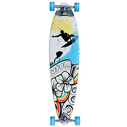 Atom Pin Tail Longboard