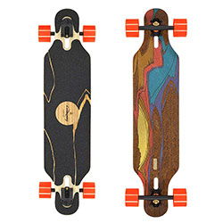 Loaded Boards Icarus Bamboo Longboard