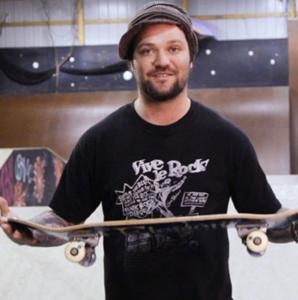 Bam Margera skater