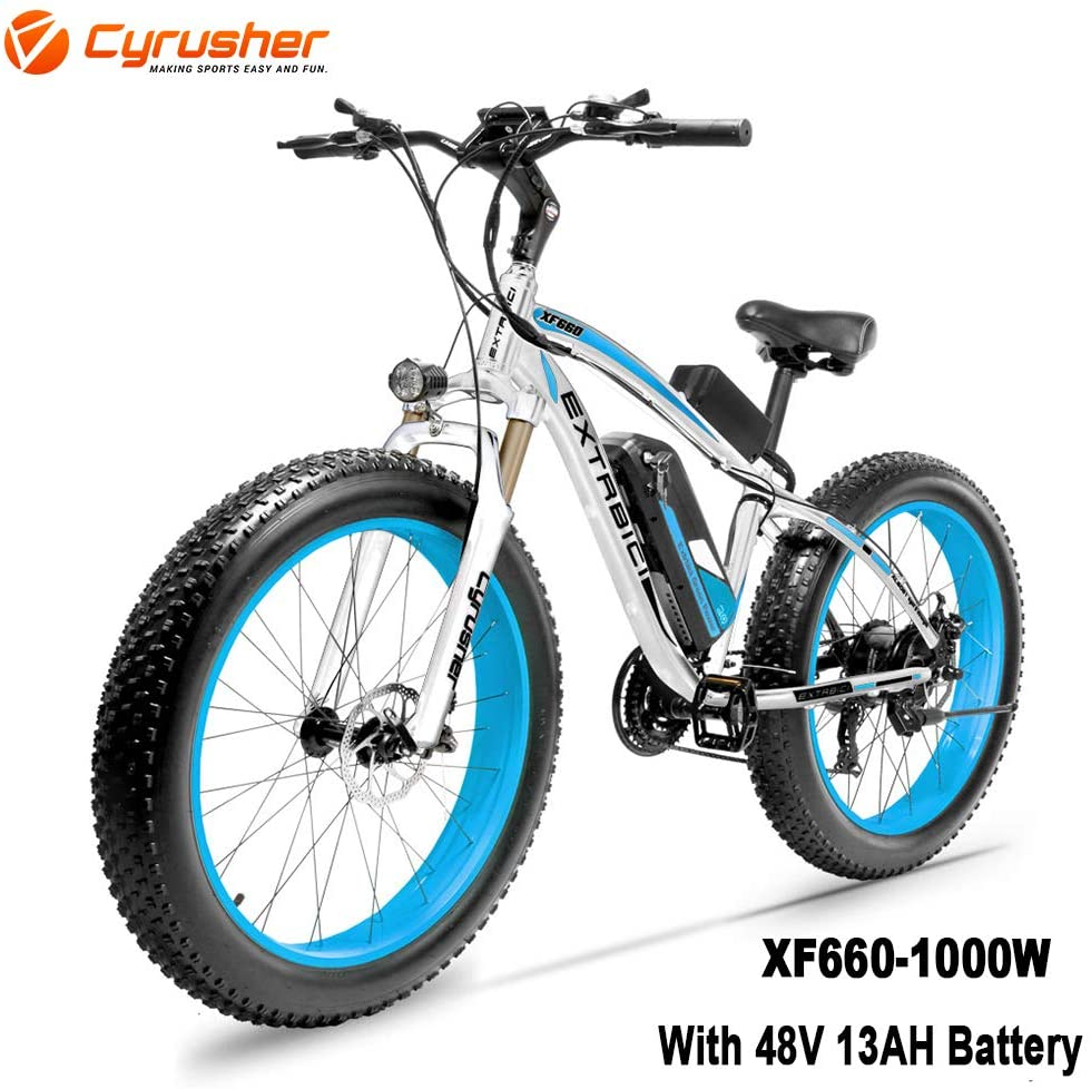 Cyrusher XF660 Fat tire off road Electric Bike