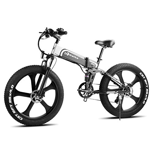 W Wallke Folding Aluminum Off-Road Electric Bike